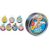 CRAZE Magic Dough Kinderknete Magische Knete 3er Bastelset Teig Knetteig 3X 40g & Magic Dough...