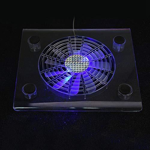 Mxzzand Cojín de enfriamiento del Cuaderno del refrigerador del Cuaderno para PS4 / PS3 / Laptop