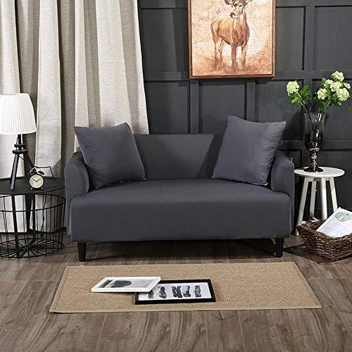 HXTSWGS Funda de sofá de Terciopelo,Funda de sofá de Sala de Estar 1 2 3 4 Funda de Asiento, Funda de protección de sofá de Tela elástica, Funda de Asiento de sofá-Color14_90-140cm