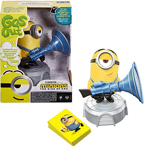 Gas Out Kids Game Featuring Minions…