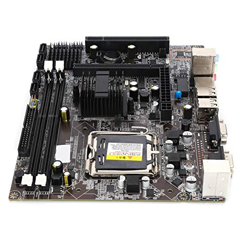 gostcai Placa Base para computadora G41, Placa Base LGA 775 DDR3 para chipset Intel G41, Placa Base para computadora de Escritorio de Doble Canal