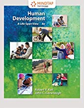 MindTap Psychology, 1 term (6 months) Printed Access Card for Kail/Cavanaugh's Human Development: A Life-Span View, 8th