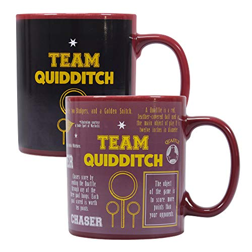 Tazza termosensibile Harry Potter - Quidditch (Squadra Quidditch)