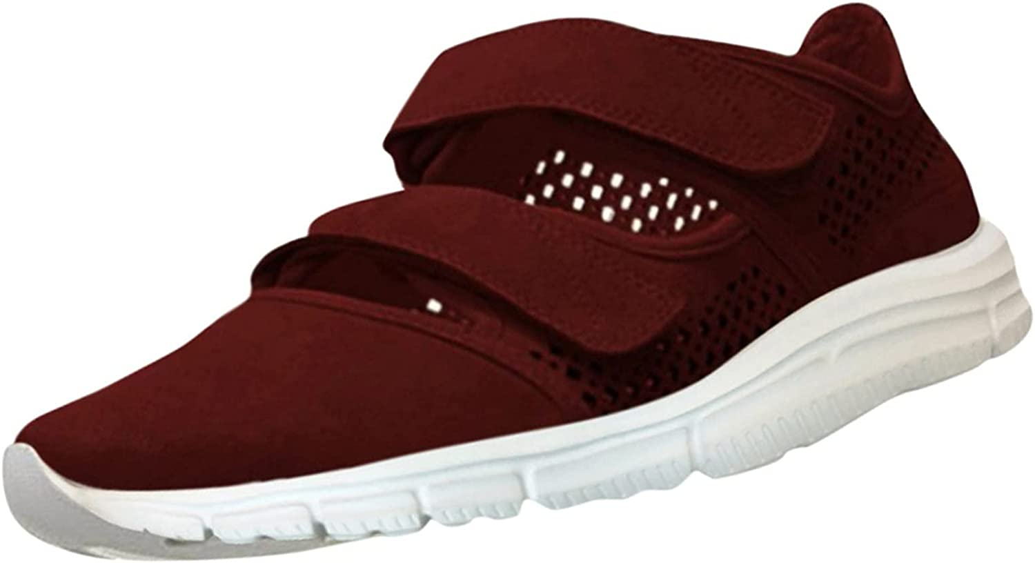 Johtae National products Womens Casual Shoes Breathable Genuine Outdoor Lei Slip-On Wedges