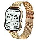 Reloj de ritmo cardíaco de las pulseras inteligentes. Toque...