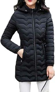 maweisong レディース厚冬立体カラーフロントジップウォームパーカーダウンジャケットコート