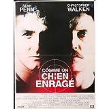 COMME UN CHIEN ENRAGE Affiche de film - 40x60 cm. - 1986 - Sean Penn, Christopher Walken, James Foley