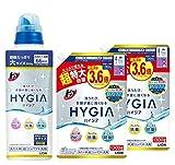 【まとめ買い】【大容量】トップ ハイジア 洗濯洗剤 液体 本体大ボトル 660g 詰め替え 超特大1300g×2個