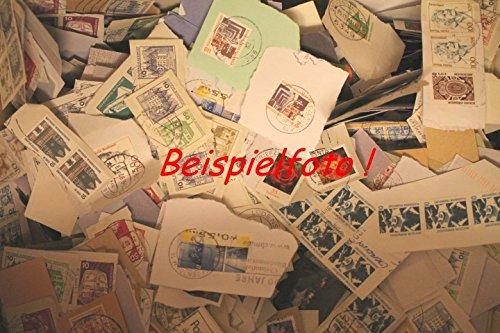 Robbert´s Briefmarken Kiloware, 100 g Dauerserien / Freimarken Missionsware, wie gespendet auf Papier, gestempelt