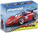 Playmobil Coches - Sports Racer, Juguete Educativo, Multicolor, 25 x 7,5 x 20 cm, (5175)