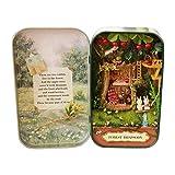 Denkerm Kits de Maison de poupée Maison de poupée en Bois Bricolage Kit de Maison de poupée Miniature Accessoires de Maison de poupée, Kits de(Forest Rhapsody)