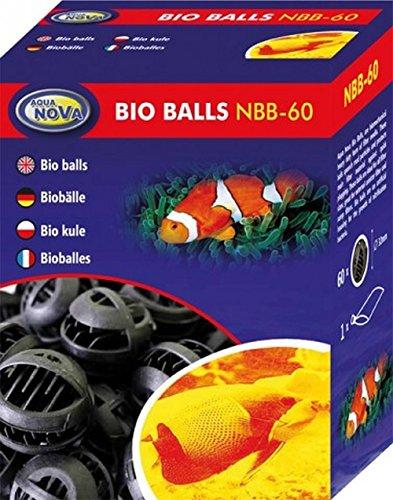 Aqua Nova Lot de 60 boules filtrantes pour aquarium