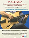 It's You Or No One: Complete Chord Melody Jazz Guitar Arrangement In Music And TAB