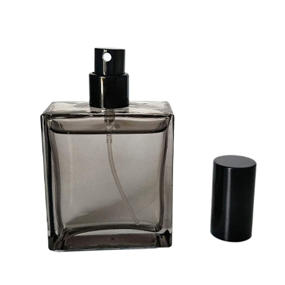 腰フラフープ陪審Injoyo ガラス スプレーボトル ポンプボトル 詰め替え 香水アトマイザー 化粧水瓶 噴霧器 50ML おしゃれ