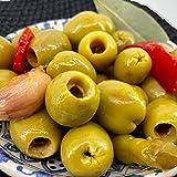 Aceitunas 'Chupadedos' | Gordal Deshuesadas Aliño Especial (Tarro 1.200g P. Neto)