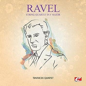 Ravel: String Quartet in F Major (Digitally Remastered)