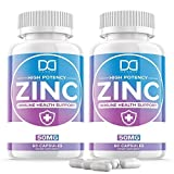 Zinc Picolinate 50mg Vitamin Supplements for Adults Kids for Immune Support System, Zinc Pills Capsules Offer Powerful Alternative to Lozenge, Chewable Tablets, Liquid (2 Month Supply | 2 Pack)