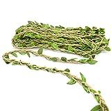 Thick Twine-65 Feet Artificial Vine Fake Foliage Leaf Plant Garland Rustic Jungle Vines Wedding Home Decor