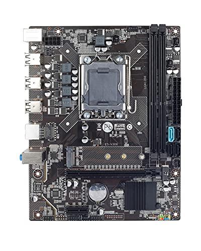 GIAO X9A X79 Placa Base Placa Base Xeon Apto Fit for LGA 1356 E5 2420 CPU 2X 4GB = 8GB 1333Mhz DDR3 ECC REG disipador de Calor Memoria RAM USB PC3