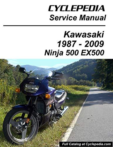 1987-2009 Kawasaki EX500 GPZ500S/Ninja 500 Service Manual (English Edition)