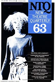 New Theatre Quarterly 63: Volume 16, Part 3