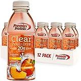 Premier Protein Premier Clear Protein Drink Peach (12/16.9 Fl Oz Net Wt 202.8 ) from Premier Protein
