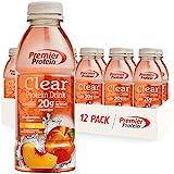 Premier Protein Premier Clear Protein Drink Peach (12/16.9 Fl Oz Net Wt 202.8 )