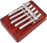 BCLGCF Kalimba Thumb Piano, 5 Teclas Kalimba Caoba Finger Thumb Piano Instrumento Musical Regalo para Niños Herramienta De Entrenamiento De Acompañamiento Musical para Niños