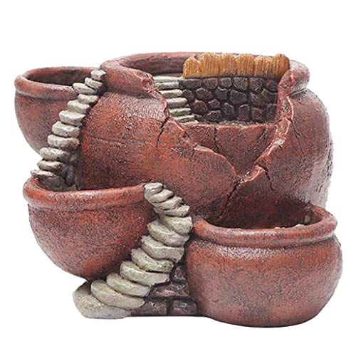 Succulent Herb Flower Basket Vintage Multi Pot Planter Bonsai...