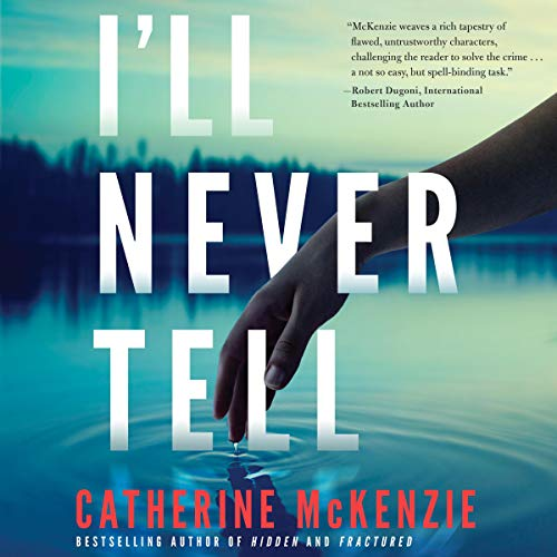 I'll Never Tell audiobook cover art