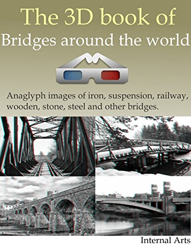 3D Book of Bridges around the world. Anaglyph images of iron, suspension, railway, wooden, stone, steel and other bridges. (3D books 29) (English Edition)