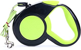 Nfudishpu Comfortable Wearable Dog Lead Retractable Pet Lead Strap is Suitable for Small and Medium Dogs Under 30 Kg with ...