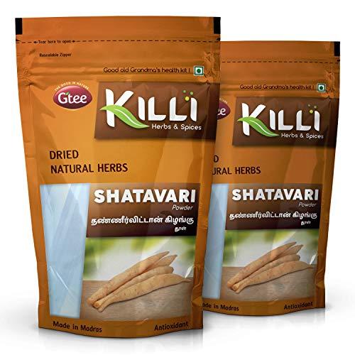 KILLI Shatavari | Asparagus racemosus | Thaneervittan Kilangu Powder, 100g (Pack of 2)