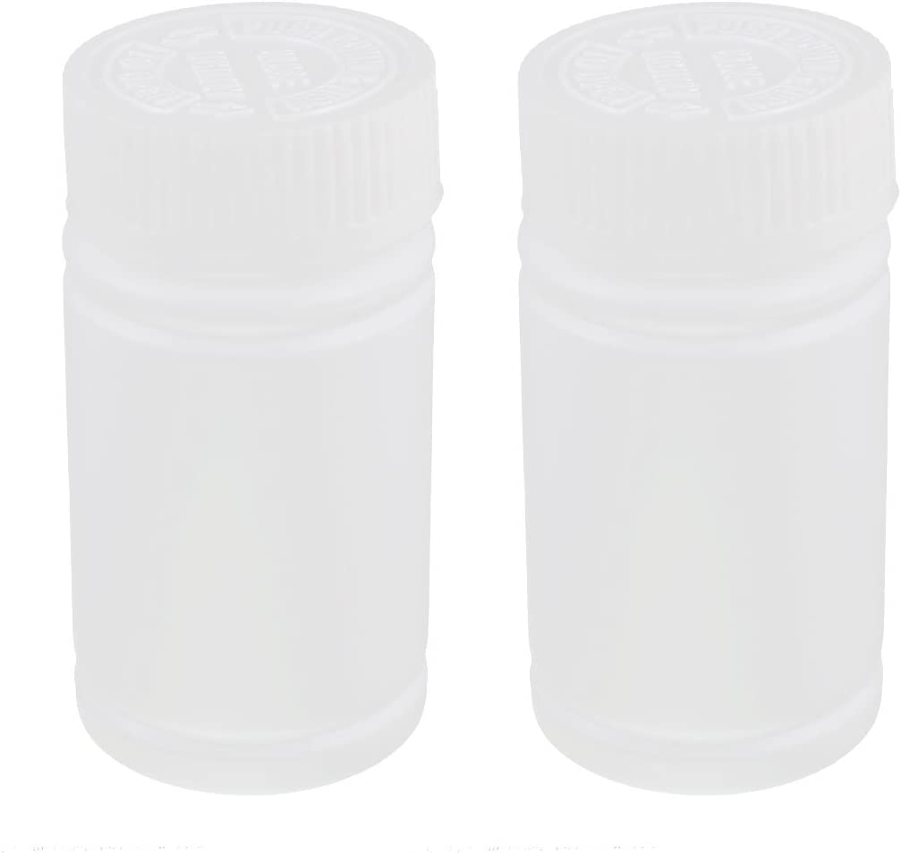 uxcell Plastic Medicine Bottle Pill Clearance SALE! Limited time! Chemical Box Contain NEW before selling Reagent