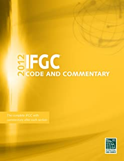 2012 International Fuel Gas Code Commentary (International Code Council Series)