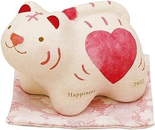 FUN fun 干支 置物 寅 和紙 ちぎり和紙 はぴとら 虎 トラ 迎春飾り 正月飾り リュウコドウ 日本製