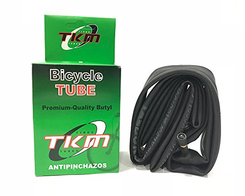 TKM - Cámara de aire Antipinchazos para Bicicleta MTB Super Reforzada 27,5' X1.95/2.125 A/V Válvula Gruesa