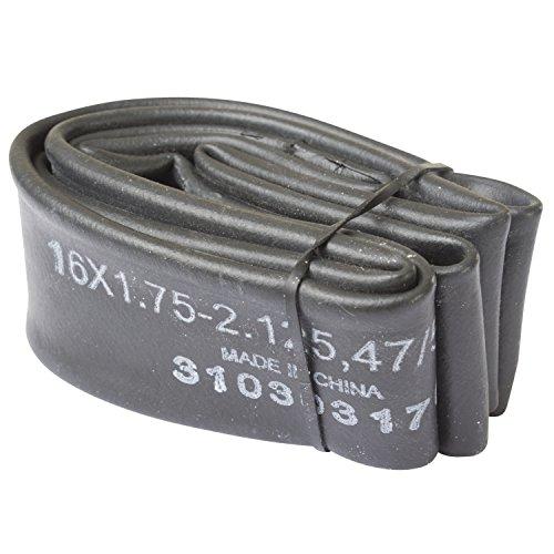 Kenda Unisex– Erwachsene Universalschlauch 16 x 1.75-2.125, AV 35 mm, schwarz, 47/57-305