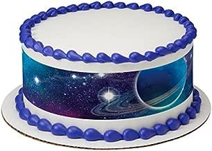 Outer Space Galaxy Edible Cake Border - Set of 3 Strips