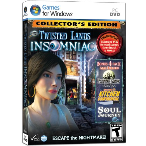 Twisted Lands: Insomniac - Collector's Edition Bonus Pack