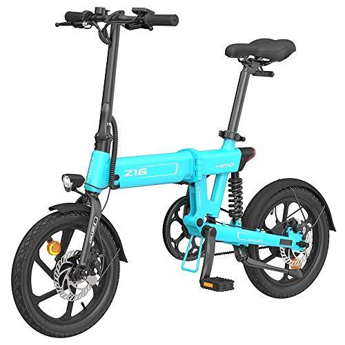 HIMO Z16 Bicicleta eléctrica Plegable para Adultos, Bici el