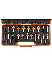 CMT Orange Tools 900.003.00-Estuche 26 Fresas Rectas y Perfil. s 8 HW DX, Naranja-Negra, 0