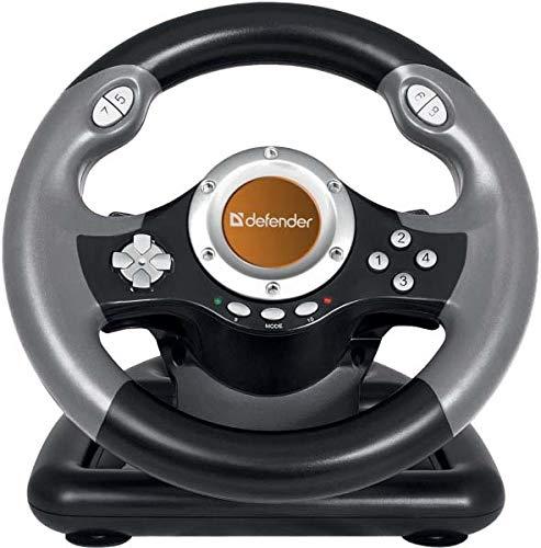 Kopie: DEFENDER Gaming Lenkrad für PC/Computer - FORSAG.