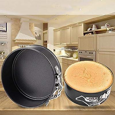Karamoda 4 Inch 11Cm Round Shaped Cake Pan,Non-...