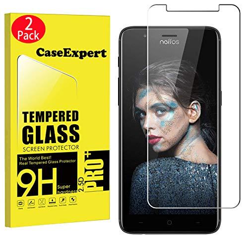 mächtig der welt CaseExpert 2er Pack – Kugelsicheres TP-Link Neffos N1 Glas, verstärktes Sicherheitsglas, Glasfolie, Hartglas…
