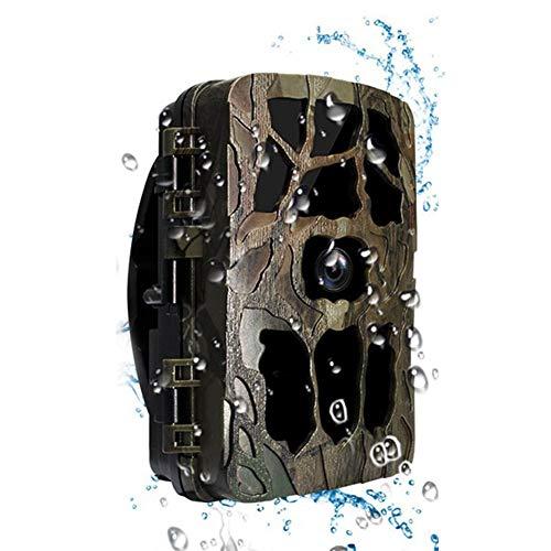 KINJOHI Wildkamera 20MP 4K Full HD Leichtes Glühen Infrarot Nachtsicht Überwachungskamera mit Bewegungsmelder und Upgrade IP66 Wasserdichtes Design für Jagd, Überwachung von Eigentum und Tieren