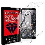 YISPIRIN [3 Piezas] Cristal Templado para Cubot Quest, Dureza 9H, Anti - arañazos Anti-Rasguño,Fácil de instalar, Vidrio Templado Protector de Pantalla para Cubot Quest