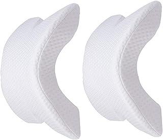 MINGZE Multifuncional Espuma de Memoria Almohada de Cuello, Alivia la presión Cervical de la Cabeza, Memory Foam Pillows, en Forma de U Arco Neck Pillow Prevenir el entumecimiento del Brazo (1.06, 2)