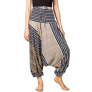 Lofbaz Mujeres Harem Hippy Pantaloni de la Pantalones hippietilo Bohemio Chic | DeHippies.com