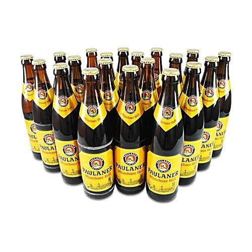 Paulaner Original Münchner Hell (20 Flaschen à 0,5 l / 4,9% vol.)